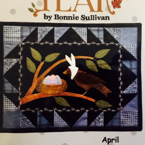 Bertie's Year - April Laser-Cut Kit
