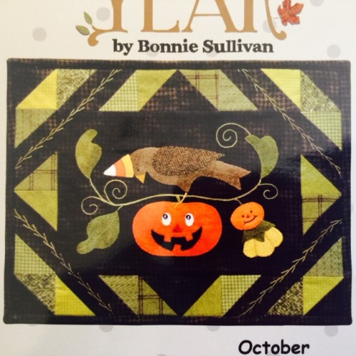Bertie's Year - October Laser-Cut Kit