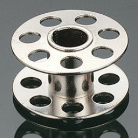 10X Metal Bobbin with Holes Both Side 0115367000 Bernina