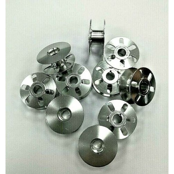 10X Bobbins with 6 Holes for Durkopp/Adler 767, 867, 868 etc. (0867-150140)
