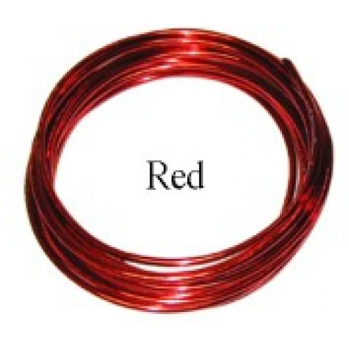 Aluminum Wire #AW-NB05  Red Colour