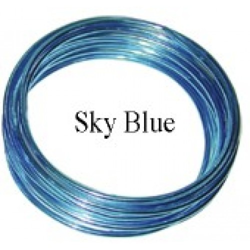 Aluminum Wire #AW-NB13 Sky Blue Color