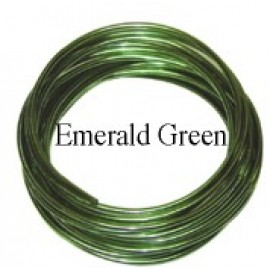 Aluminum Wire #AW-NB17 Emerald Green Color
