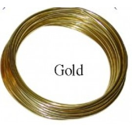 Aluminum Wire #AW-NB24 Gold Color