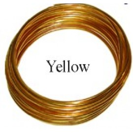 Aluminum Wire #AW-NB25 Yellow Color