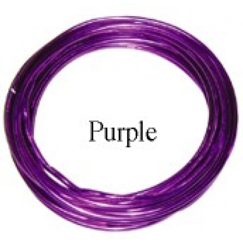 Aluminum Wire #AW-NB96 Purple Color