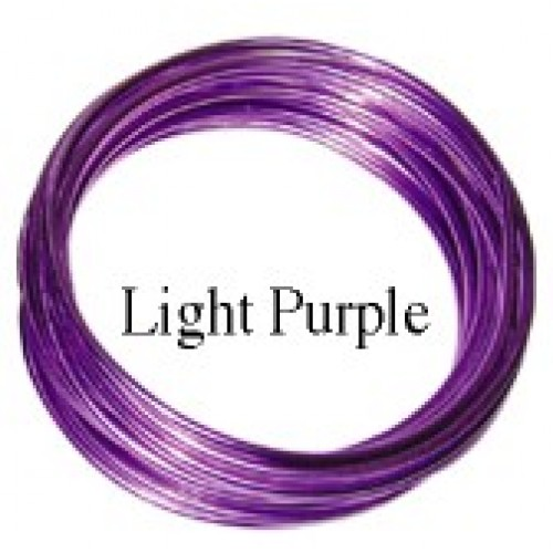 Aluminum Wire #AW-NB98 Light  Purple Color