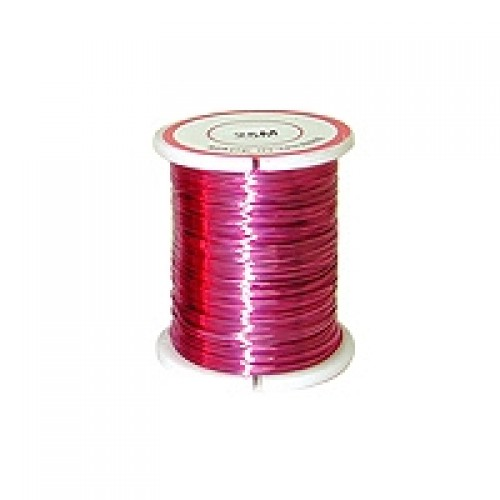 Copper Wire #CW-06  Pink Colour