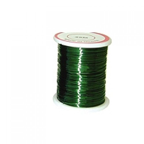 Copper Wire #CW-19  Green Colour