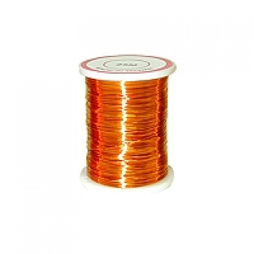 Copper Wire #CW-46  Orange Colour