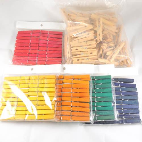 Craft Wood Pegs 70mm
