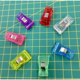 Craft Clips (Medium) 7pcs Mixed Colours