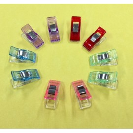 Craft Clips (Small) 10 Pack Mixed Colours