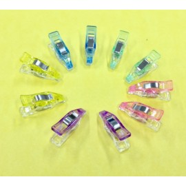 Craft Clips (Extra Small) 10 Pack Mixed Colours