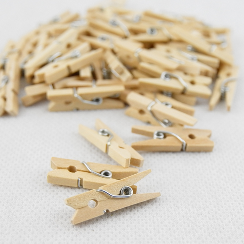 Craft Wood Pegs 25mm/1""