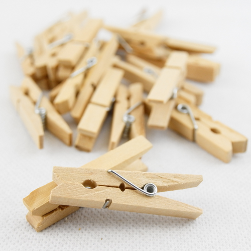 Craft Wood Pegs 46mm