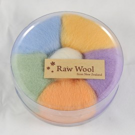 Raw Wool Roving Set