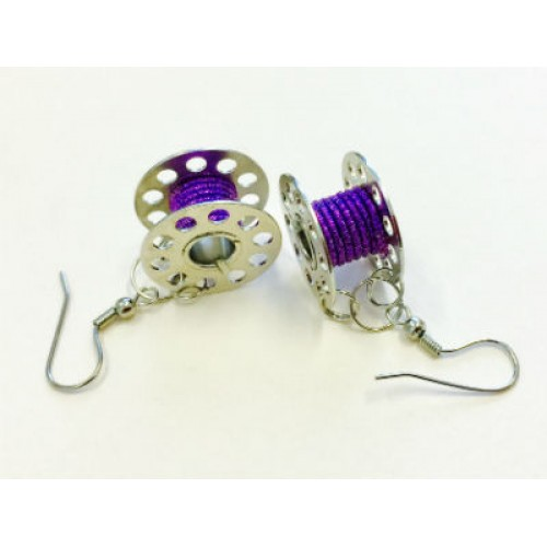 Bobbin Earrings EAR-03LAV