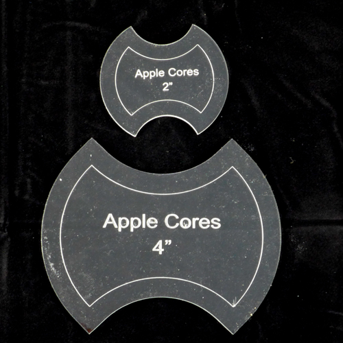 Apple Core (Spool) Template