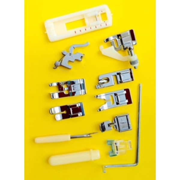 11-Pc  Presser Foot Set (Low Shank)