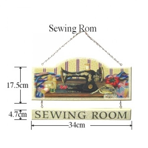 Sewing Room Sign Plaque