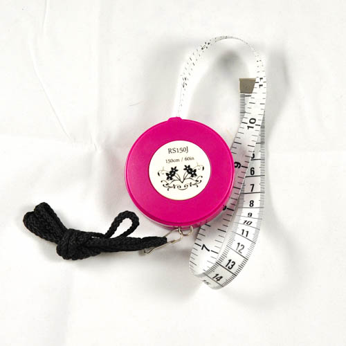Retractable Tape Measure w/Strap 150cm/60""