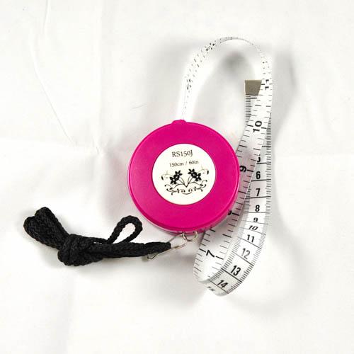 """Retractable Tape Measure w/Strap 150cm/60"""""""