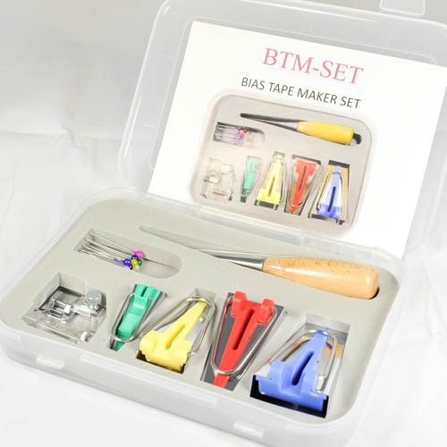 Bias Tape Makers Set  (4 Sizes)