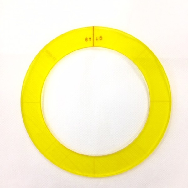 """Ring Template 8"""" + 5"""""""