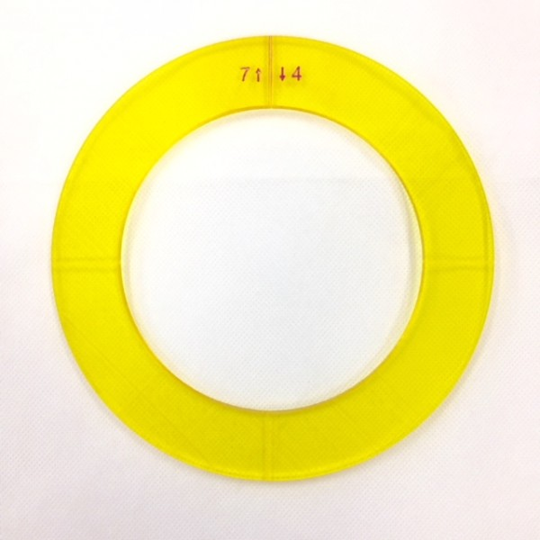 "Ring Template 7"" + 4"""