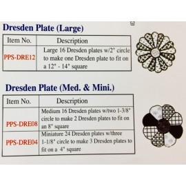 Dresden Paper Piecing Sampler Packs