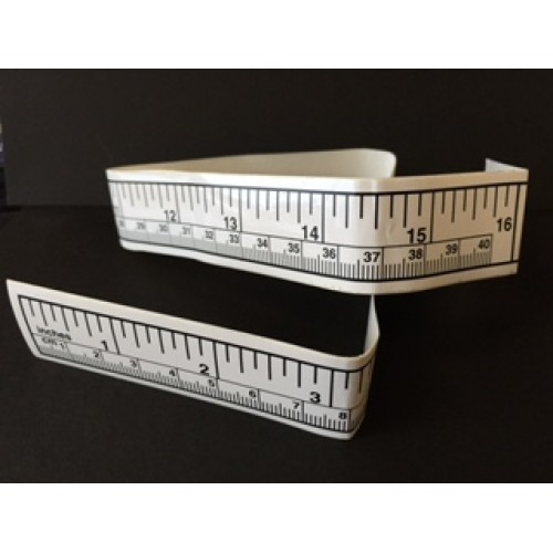 Adhesive Back Tape Measure  (3/pack)