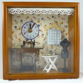 Dollhouse with Clock  207C