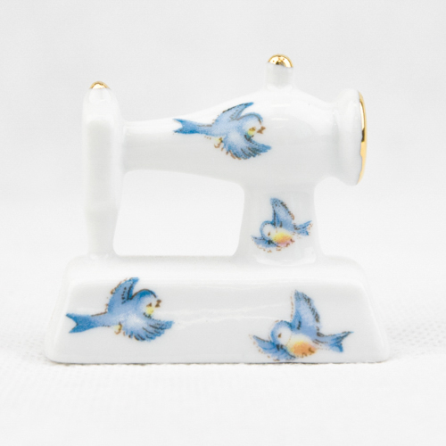 Porcelain Mini Sew. Machine P45BD
