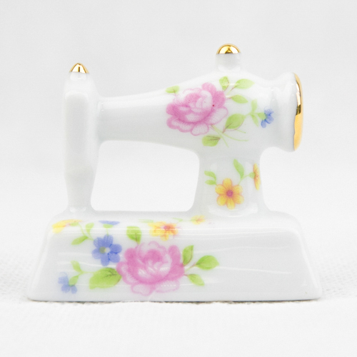 Porcelain Mini Sew. Machine P45F1