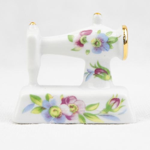 Porcelain Mini Sew. Machine P45F3