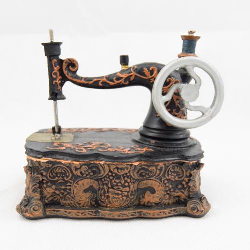 Mini Sew. Machine Trinket Box TB101