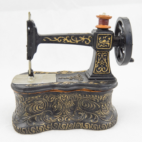 Mini Sew. Machine Trinket Box TB102