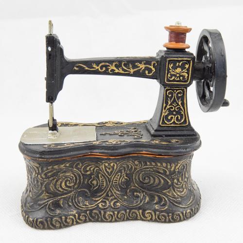 Mini Sew. Machine Trinket Box TB102