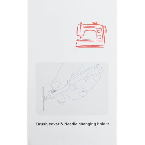 Needle Inserter with Lint Brush