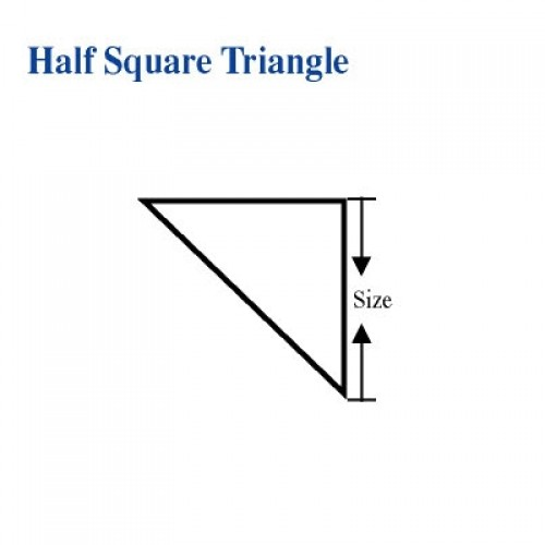Half Square Triangle