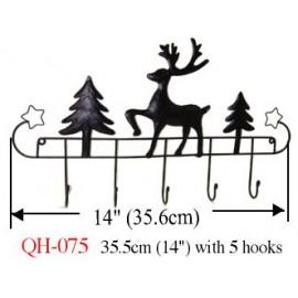 Quilt Hanger (Reindeer Theme)