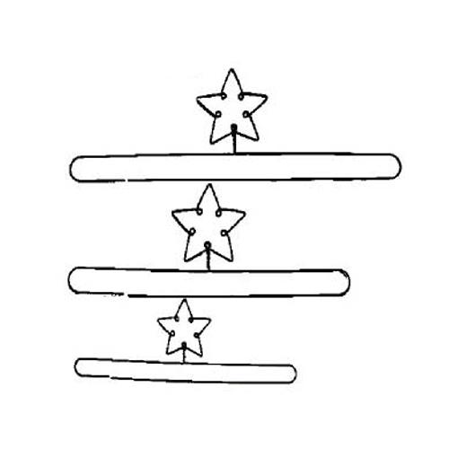 """Quilt Hanger (12""""~20"""") Split Bottom"""