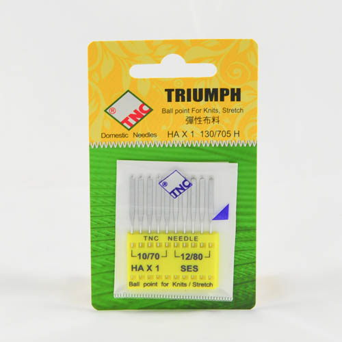 Machine Needles for Knits/Stretch Ball Point