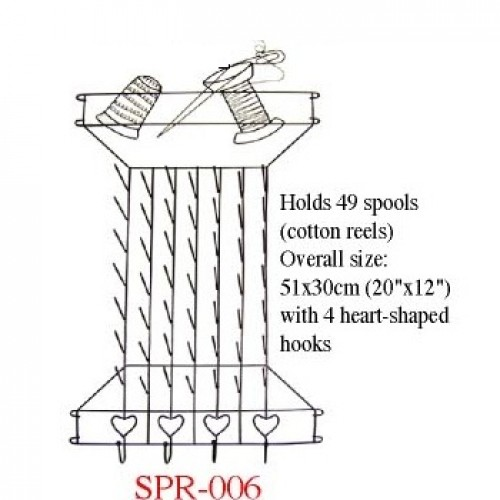 Cotton Reel / Spool Rack  SPR-006
