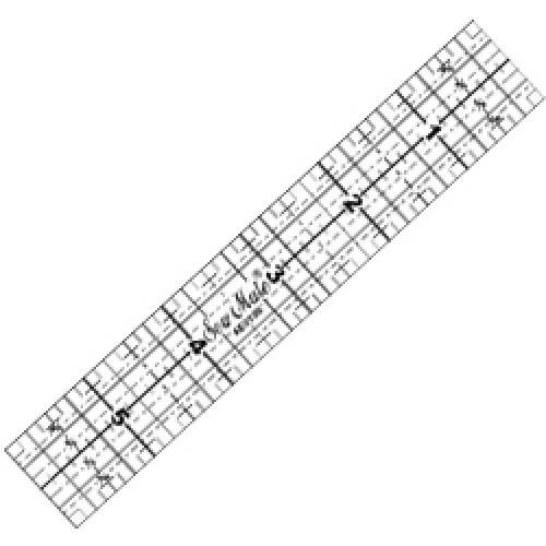 """Quilting Ruler 1""""x6"""""""
