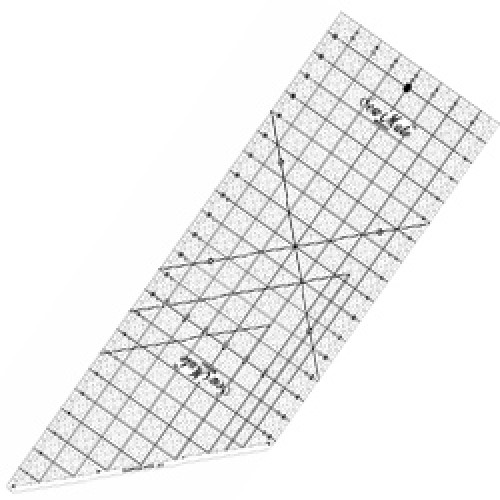 "Quilting Ruler 8""x24"""