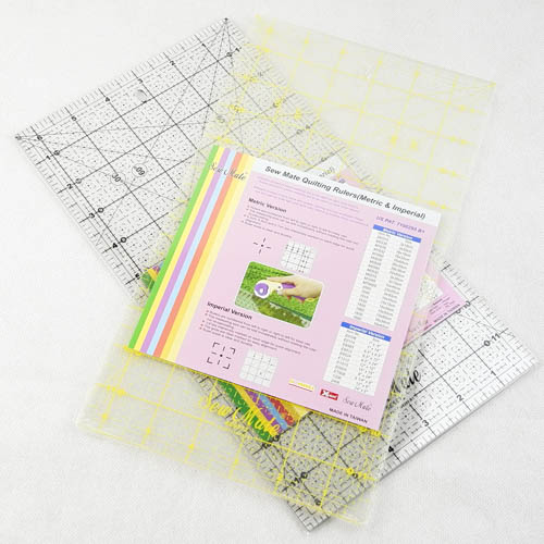 "Quilting Ruler 6.5""x12"""