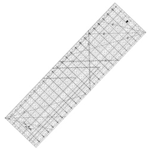 "Quilting Ruler 6.5""x24"""