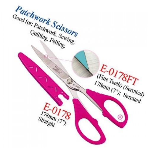 "Sewing Scissors (Serrated) 178mm (7"")"
